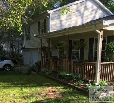 Athens GA Single Family Home Active Active: $182,000