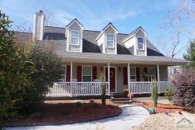 Hull GA Single Family Home Active Active: $168,900