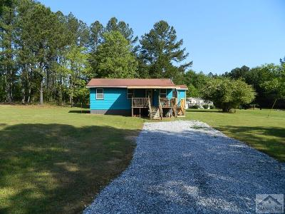 Oglethorpe County Single Family Home Active Active: 337 Dora Bush Hill Rd.