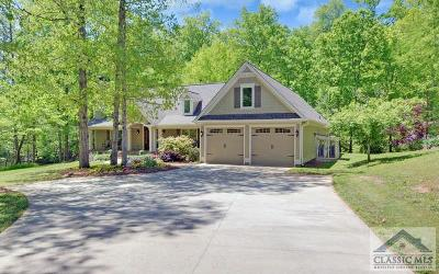 Oconee County Single Family Home Active Active: 3190 Flat Rock Rd