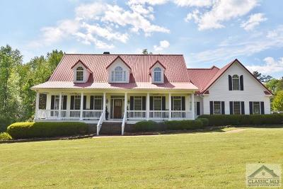 Oconee County Single Family Home Active Active: 1591/1593 Malcom Bridge Road