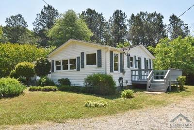Oconee County Single Family Home Active Active – Pending Cont: 2430 Barnett Shoals Road