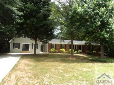 Oconee County Single Family Home Active Active: 1160 Woodlands