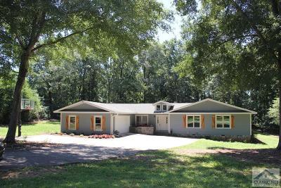 Oconee County Single Family Home Active Active: 1071 Hickory Hill