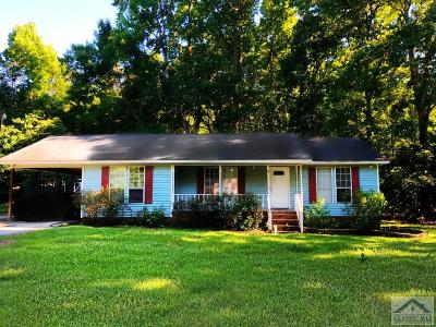 Barrow County Single Family Home Active Active: 456 Sunset Drive