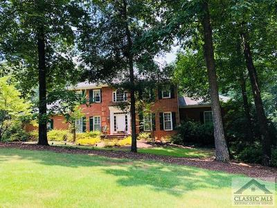 Athens GA Single Family Home Active Active: $539,900