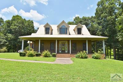 Oglethorpe County Single Family Home Active Active: 1756 Crawford Smithonia Rd.