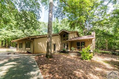 Oconee County Single Family Home Active Active: 1420 Old Bishop Road
