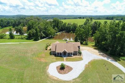Danielsville GA Single Family Home Active Active: $450,000