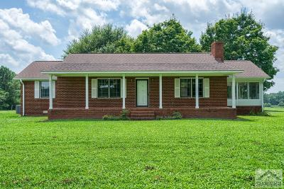 Oglethorpe County Single Family Home Active Active: 463 Arnoldsville Rd