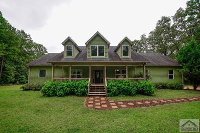 Oglethorpe County Single Family Home Active Active: 188 Meadow Creek Drive