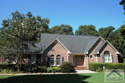 Oconee County Single Family Home Active Active: 1181 Stonebridge Circle