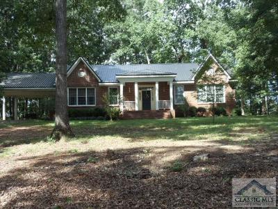 Danielsville GA Single Family Home Active Active: $219,999