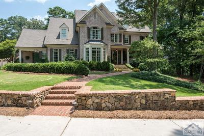 Oconee County Single Family Home Active Active: 3371 Barnett Shoals Road