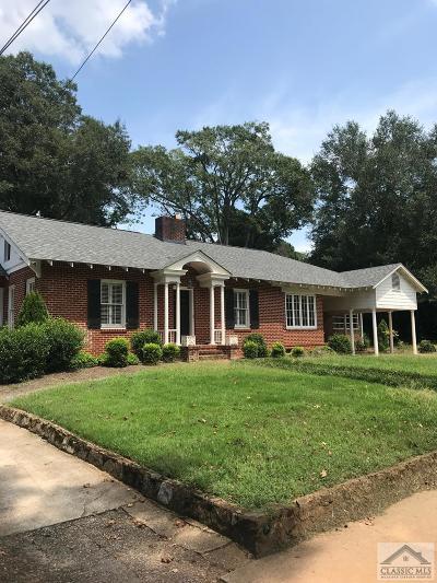 Athens GA Single Family Home Active Active: $589,000