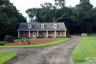 Oconee County Single Family Home Active Active: 1431 Choyce Johnson Rd