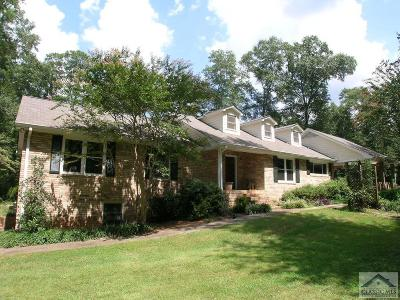 Oconee County Single Family Home Active Active: 1371 Pete Dickens Rd