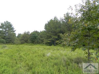 Oglethorpe County Residential Lots & Land Active Active: Smith Rocky Branch Road