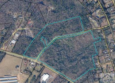 Oglethorpe County Residential Lots & Land Active Active: Athens Road