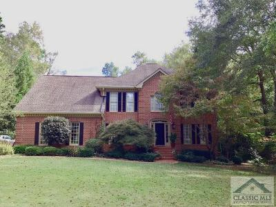 Oconee County Single Family Home Active Active: 1100 Latham Drive
