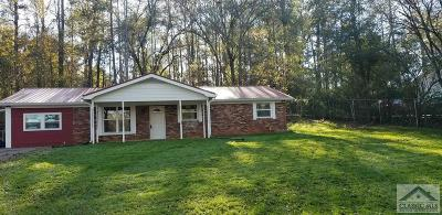 Oconee County Single Family Home Active Active: 1191 Experiment Station Rd