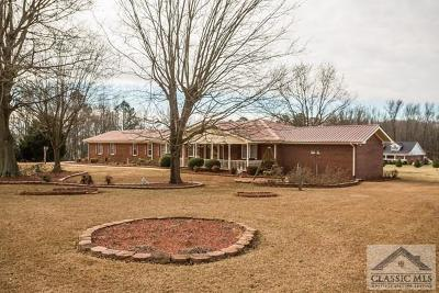 Oglethorpe County Single Family Home Active Active: 619 Arnoldsville Road