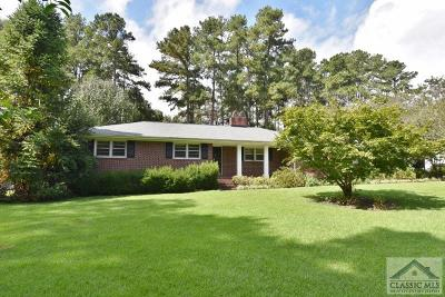 Oconee County Single Family Home Active Active: 150 Landrum Dr