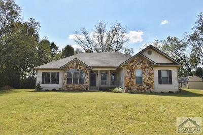 Oglethorpe County Single Family Home Active Active: 92 Palmer Rd