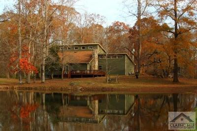 Madison County Single Family Home Active Active: 1970 Pine Valley Farm Road
