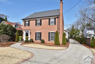 Athens GA Single Family Home Active Active: $773,500