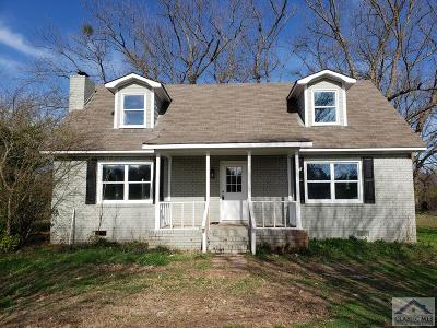 Oglethorpe County Single Family Home Active Active: 236 Hardgrove Lake Rd