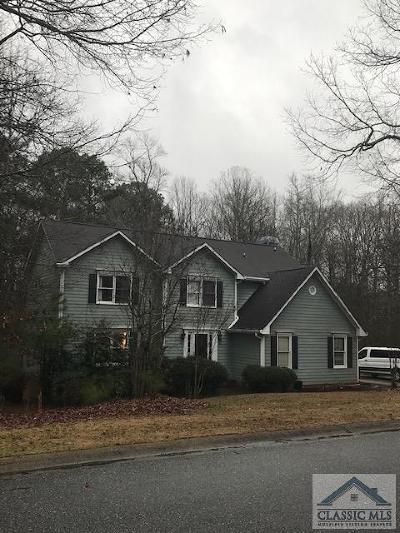 Athens GA Single Family Home Active Active: $227,000