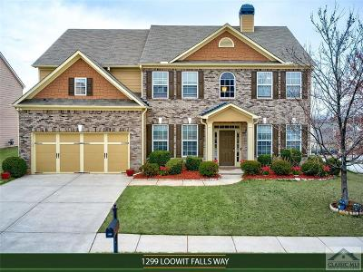 Barrow County Single Family Home Active Active: 1299 Loowit Falls Way