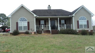 Colbert GA Single Family Home Active Active: $179,900