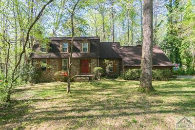 Athens Single Family Home Active Active – Pending Cont: 190 Old Fort Road