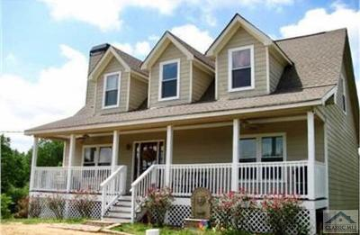 Madison County Single Family Home Active Active: 3276 Ga-72