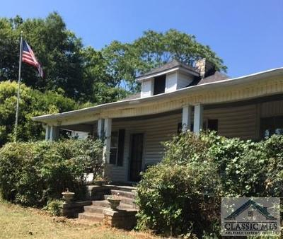Oglethorpe County Single Family Home Active Active: 246 West Main St.