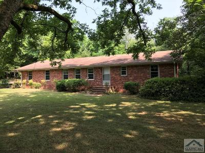 Barrow County Single Family Home Active Active – Pending Cont: 2616 Rat Kinney Rd