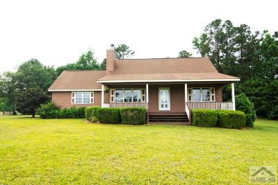 Oglethorpe County Single Family Home Active Active: 48 Welcome Ave