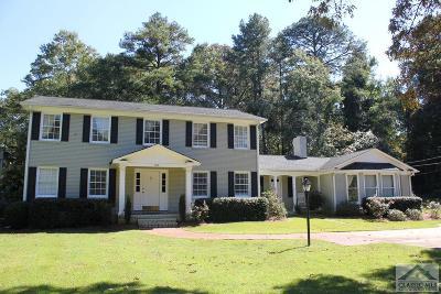 Athens GA Single Family Home Active Active: $289,900