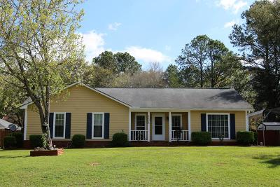 Albany GA Single Family Home For Sale: $134,900