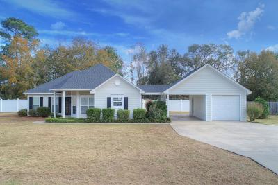 Lee County Single Family Home For Sale: 131 Aubry Court