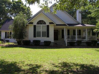 Lake Blackshear, Cordele, Warwick, Arabi, Ashburn, Rebecca, Sycamore Single Family Home For Sale: 253 Slade Rd