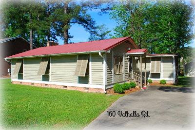 Lake Blackshear, Cordele, Warwick, Arabi, Ashburn, Rebecca, Sycamore Single Family Home For Sale: 160 Valhalla Rd.