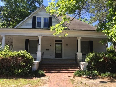Lake Blackshear, Cordele, Warwick, Arabi, Ashburn, Rebecca, Sycamore Single Family Home For Sale: 506 E 19th Ave