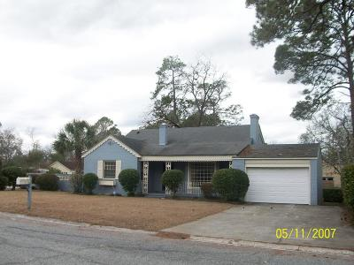 Lake Blackshear, Cordele, Warwick, Arabi, Ashburn, Rebecca, Sycamore Single Family Home For Sale: 816 S 4th St