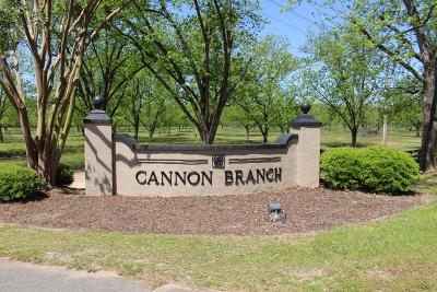 Fitzgerald, Tifton, Ashburn, Ocilla, Albany, Baconton, Lenox, Omega, Abbeville, Alapaha, Cordele, Oakfield, Ray City, Norman Park, Sparks, Chula, Vienna, Arabi, Cobb, Rochelle Residential Lots & Land For Sale: Lot # 8 Cannon Branch Rd
