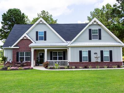 Lake Blackshear, Cordele, Warwick, Arabi, Ashburn, Rebecca, Sycamore Single Family Home For Sale: 3313 Old Hatley Rd
