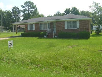Lake Blackshear, Cordele, Warwick, Arabi, Ashburn, Rebecca, Sycamore Single Family Home For Sale: 1815 S Joe Wright Dr