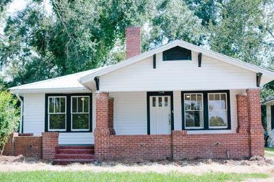 Lake Blackshear, Cordele, Warwick, Arabi, Ashburn, Rebecca, Sycamore Single Family Home For Sale: 614 1/2 E 12th Ave